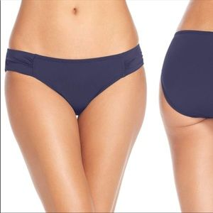 Tommy Bahama Side Shirred Hipster Bikini Bottom L
